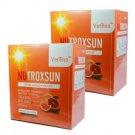 2 Boxs 20 Sachets Verena NUTROXSUN UVA UVB Natural Dietary Supplement