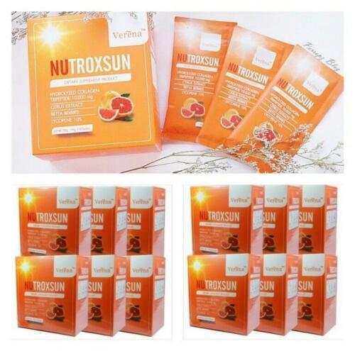 12 Boxs 120 Sachets Verena NUTROXSUN UVA UVB Natural Dietary Suppleme