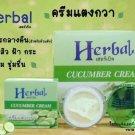 6X Cucumer Night Cream Herbal Brightens the Skin Reduce dark spots
