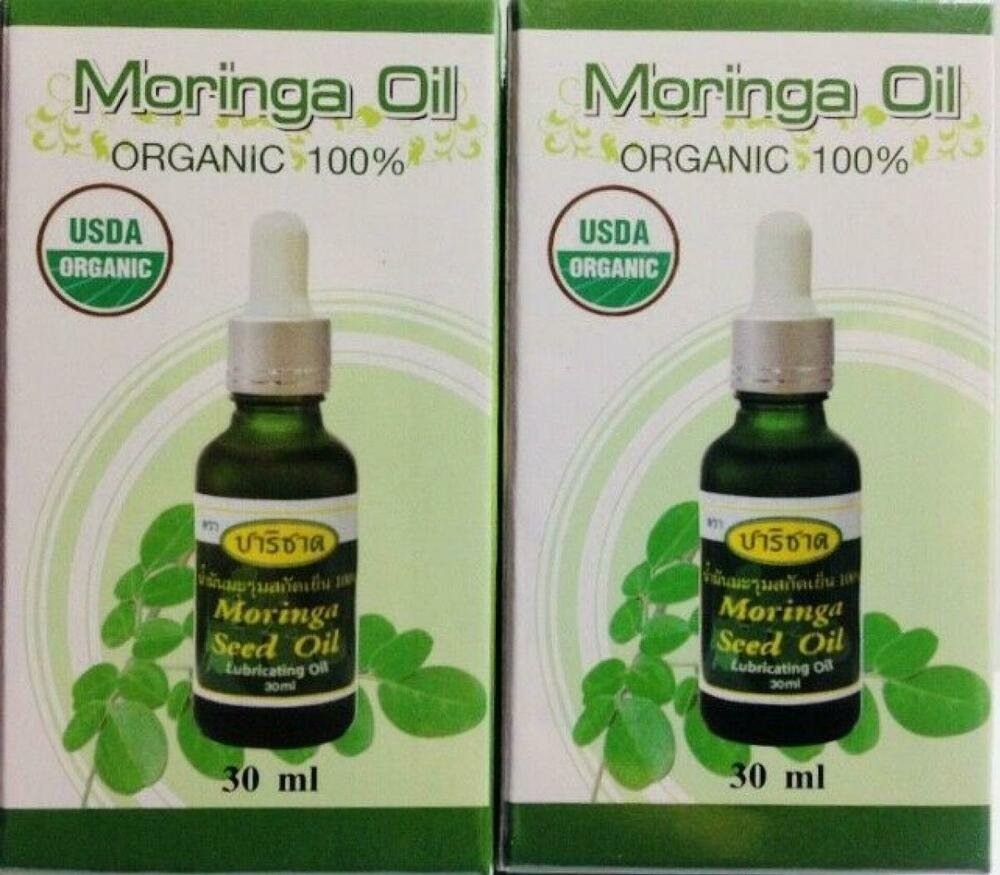 3X Moringa Oil Organic 100 Cold press Extraction Apply gently on s