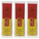 3 Bottles Golden Thai Crocodile Massage Oil Rapid Muscle and Joint