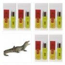 6 Bottles Golden Thai Crocodile Massage Oil Rapid Muscle and Joint
