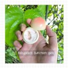 2 Face gloss Baby Peach Sunscreen SPF50 Natural smooth Face gloss