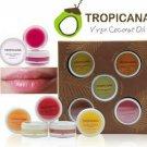 Coconut Delight Tropicana Natural Lip Balm Coconut Antioxidant 5 Scents