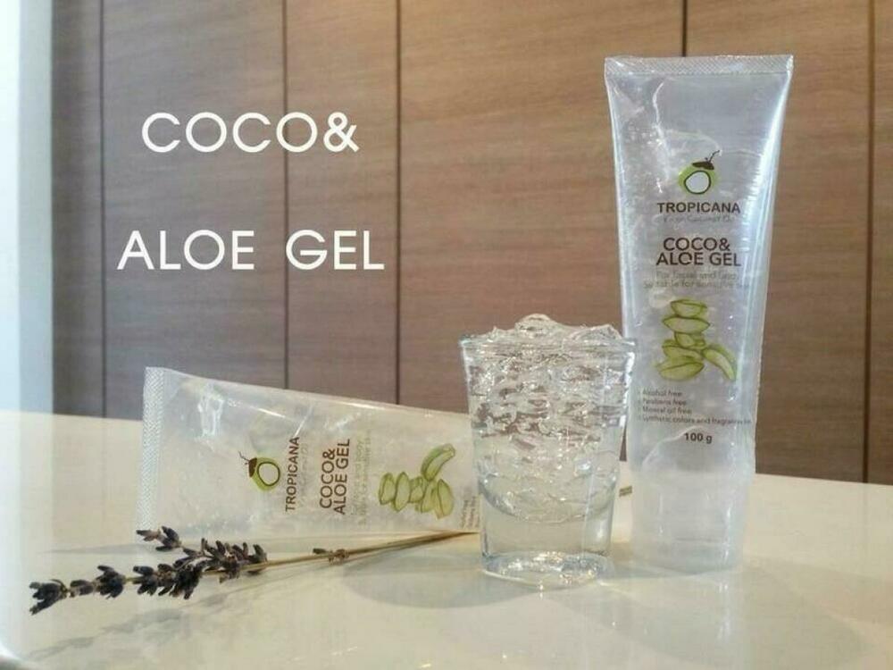 Tropicana Coco Aloe Gel for facial and body Suitable for sensitive