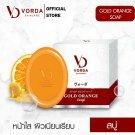 3 Bar Vorda Gold Orange Soap Facial Cleansing With Moisturizer Vitami