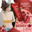 COMO Body Lotion Berry Blink with AHA Brighten Revealing skin 100ml