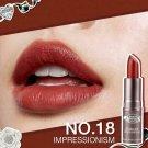 No18 Impressionism Beauty Cottage Semi-Matte Lipstick Elegant Impressionist