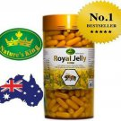 365 Soft Capsules Natures King Royal Jelly 1000 mg 100 Natural Aus