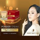 Shiny Powder Cream Facial Sun Protection UVBUVA SPF 50 PA plus plu