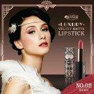 02 Ruby Beauty Cottage Luxury Velvet Matte Lipstick Natural oil Prote