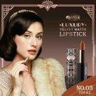 03 Topaz Beauty Cottage Luxury Velvet Matte Lipstick Natural oil Prot