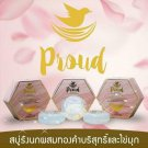 Set Proud Soap Birds Nest Pure Gold Pearl clear skin High class