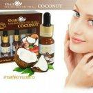 Snail Golden Face Gel Plus plus plus Coconut Scent collagen elastin