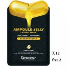 12 Sheets Free 2 Dermady Gold Ampoul Jelly Lifting Mask with Pure