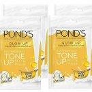 4X Ponds White Beauty Instabright Tone-up Milk Mask Honey 25g