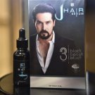 2 X J-Hair Serum Grow hair Mustache Eyebrows Natural extracts Safety