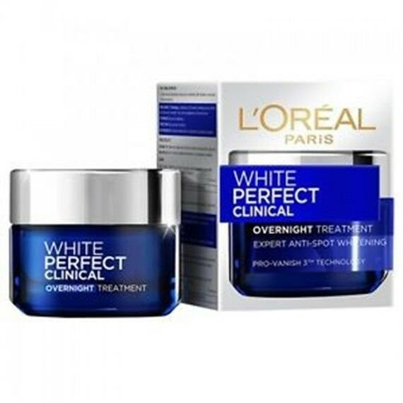 #Night Cream LOreal Paris White Perfect Clinical Day plus Night Treat