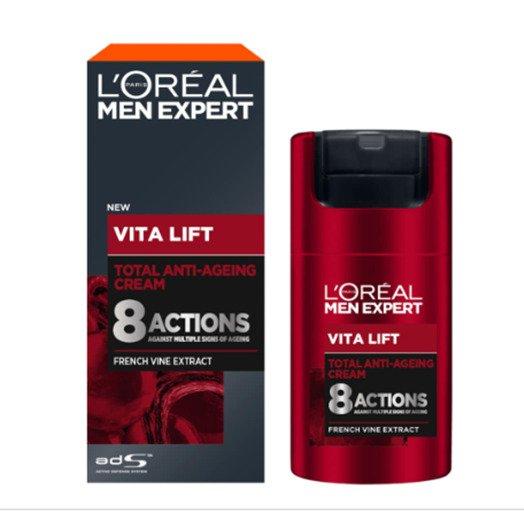 LOreal Paris Men Expert Pure Vita Lift Total Anti-Aging Cream 50 m