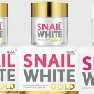 Set SnailWhite Gold Facial Anti Aging Restore fine-lines wrinkles bright