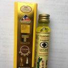 Lot of 6 Bottles of Thai Herbal Gold Cross Yellow Oil 24ml.
