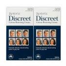 2 BOXES of Restoria Discreet Colour Restoring Cream 250ml!!