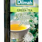 Dilmah Green Tea with Jasmine Petals 2.87-Ounce Boxes (Pack of 6)