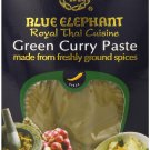 3 x blue elephant Royal Thai Cuisine Green Curry Paste 70g