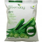 Green Day Okra Chips Snack Real Vegetable, 25 Gram (Pack of 5)