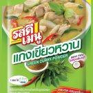 16 X 55 gm ROSDEE MENU GREEN CURRY POWDER THAI FOOD