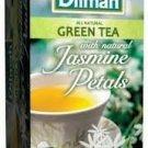 Dilmah Green Tea with Natural Jasmine Petals 20 Tea Bags Net Wt
