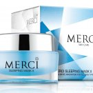 Merci Sleeping Mask Ii Skin Care Facial Premium Whitening for Urgent