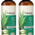 Naturals by Watsons Organic Aloe Vera Shower Gel - 490 ml x 2.