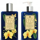 DONNA CHANG Calla Lily Shower Gel and Body Serum Set.