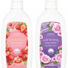 Watsons Strawberry and Rose Water Scented Body Lotion Set.