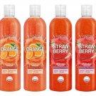 Watsons Orange and Strawberry Exfoliating Shower Gel with Jojoba Oil