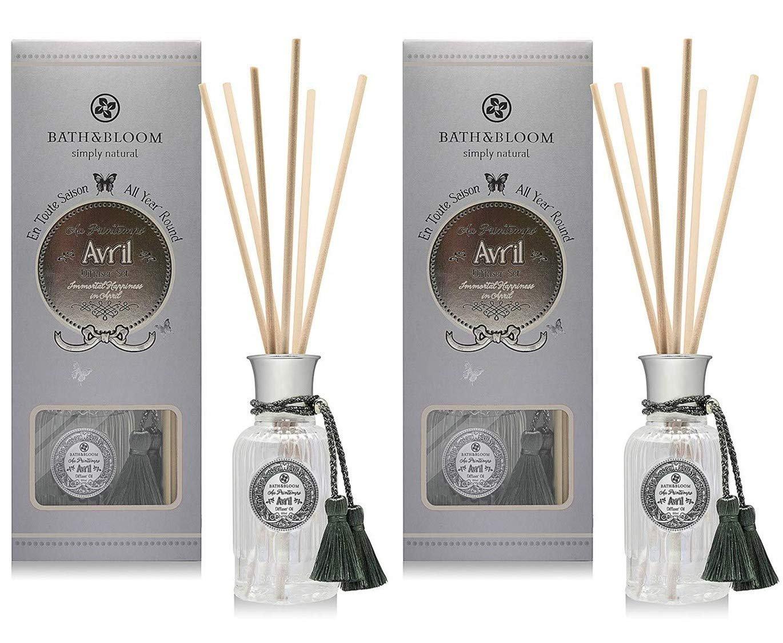 BATH and BLOOM APRIL (Jasmine Ylang Ylang and Lilac) Reed Diffuser