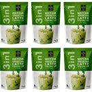 Ranong Tea 3 in 1 Matcha Green Tea Latte 20g x 8 Sachets (10