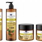 Natures Series Argan Oil Hair Set 5.