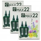 New 1 Box 2 Bottles From Spain Hair Care Natural Treatment Hair Growth VELFORM MAX22 (Pack of 3)