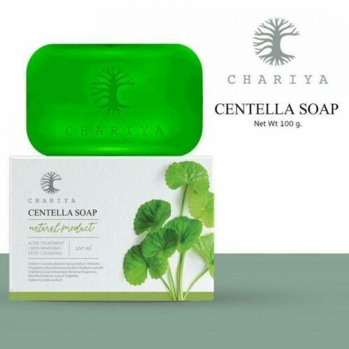 10X CHARIYA Centella Soap Natural Herbal Nourish Reduce dullness and