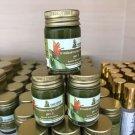 15 g X 10 Thai Organic Herbal Ayurved Siriraj Medicated Balm Formu