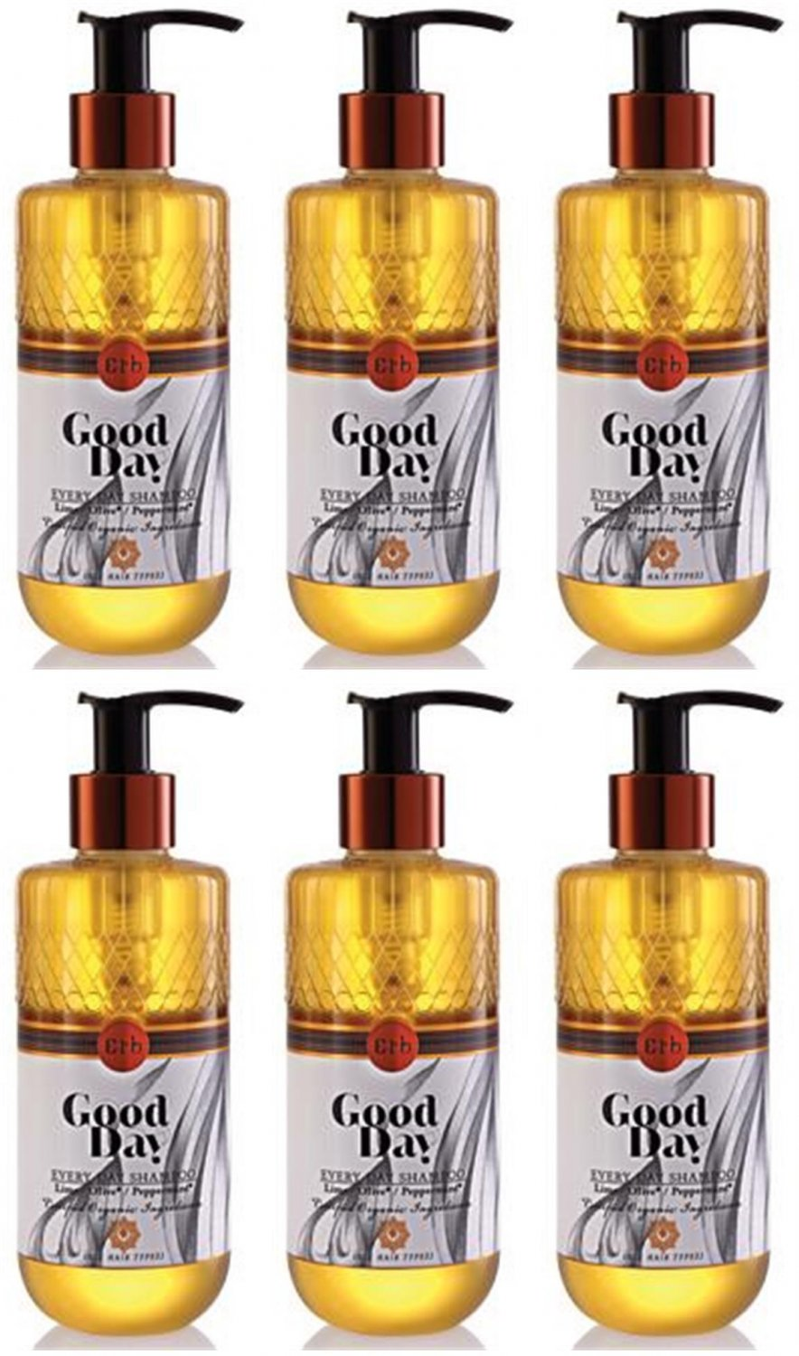 ERBS GOOD DAY EVERY DAY SHAMPOO 230ML LIME AND OLIVE HEALTHY TUMTIM T89 6 PCS/PACK