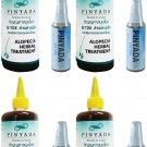 TUMTIM T78 PINYADA HEAD HERB STIMULATES HAIR GROWTH SHAMPOO  HAIR TONIC 4 PCS/PACK