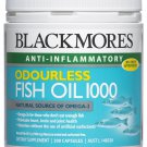 Blackmores Odourless Fish Oil 1000 Mg 400 Capsules.( )