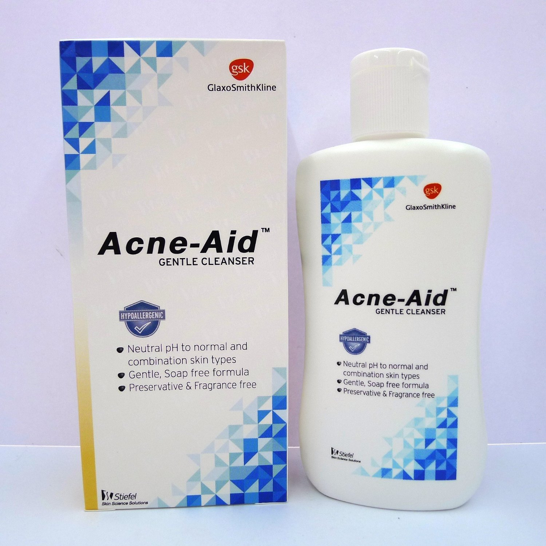 Acne-aid Gentle Cleanser 3.4 Fl Oz (100 Ml) Stiefel (A GSK Company