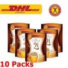 10 x NatureGift 21 Instant Coffee Mix Powder L-Carnitine Vitamins Min