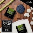 Princess Carbon Soap Deep cleansing reducing blemishes dark circles 100g