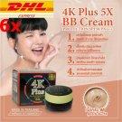 x6 4k plus 5X BB cream protection spf 50 PA plus plus plus s