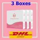 3 x PHERONE Female Hormone Supplement skin food natural extracted 10